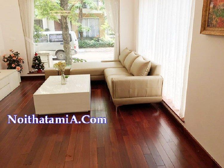 Ghế sofa góc da giá rẻ kích thước lớn SFD223