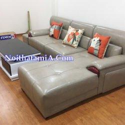 Ghế sofa góc da hiện đại SFD224