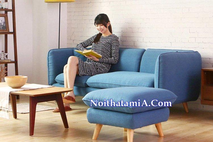 Mẫu ghế sofa văng nỉ đẹp giá rẻ SFN225