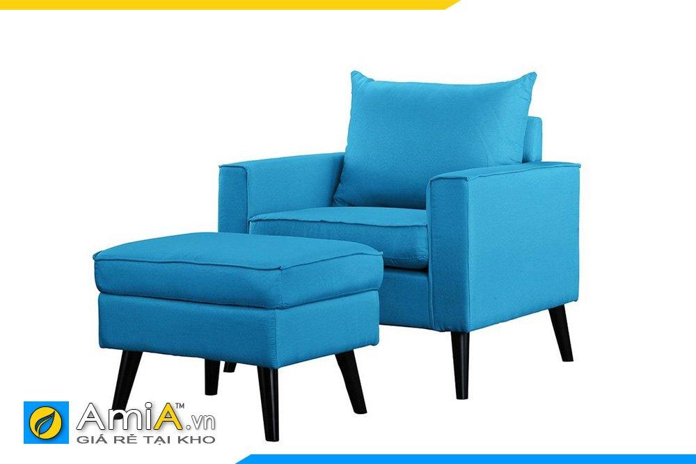 Màu xanh hoàn thiện không gian thêm phần sinh động và vui vẻ