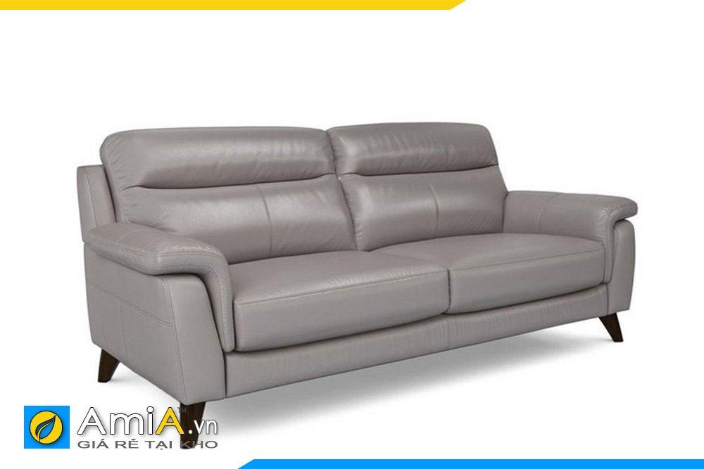 Chiếc ghế sofa màu ghi xám hiện đại, trẻ trung, dễ kết hợp nội thất