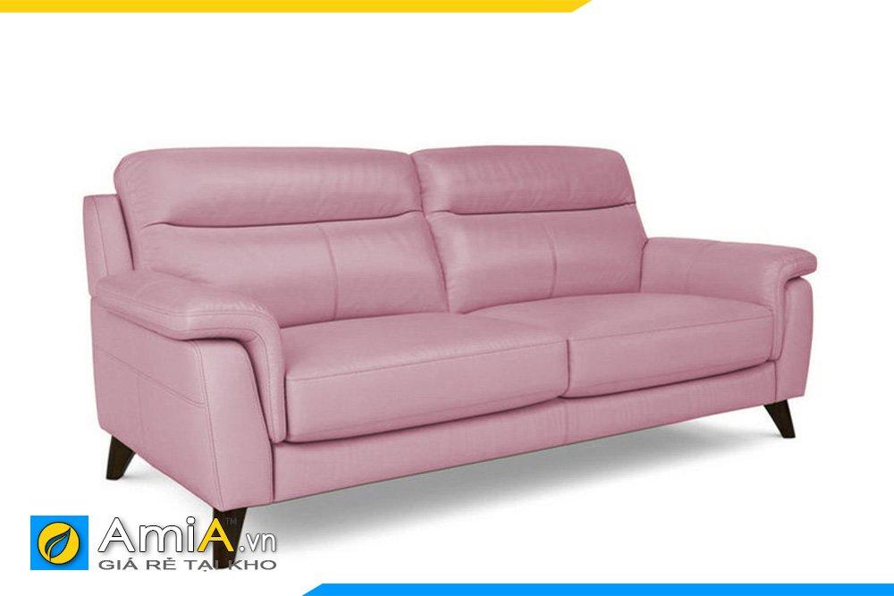 Sofa văng màu hồng cho cô nàng có tính cách nhẹ nhàng, lãng mạn