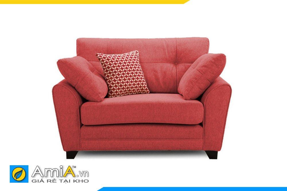 Chiếc ghế sofa màu đỏ sẽ giúp tăng sự quyến rũ và quyền lực cho nữ gia chủ