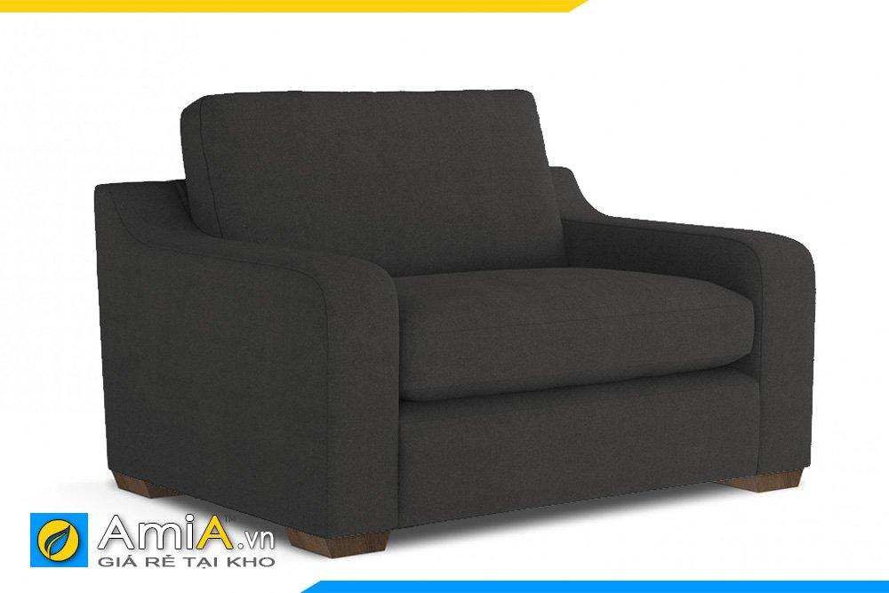 Một chiếc ghế màu đen chân thấp, tay lượn sẽ thích hợp cho văn phòng của sếp