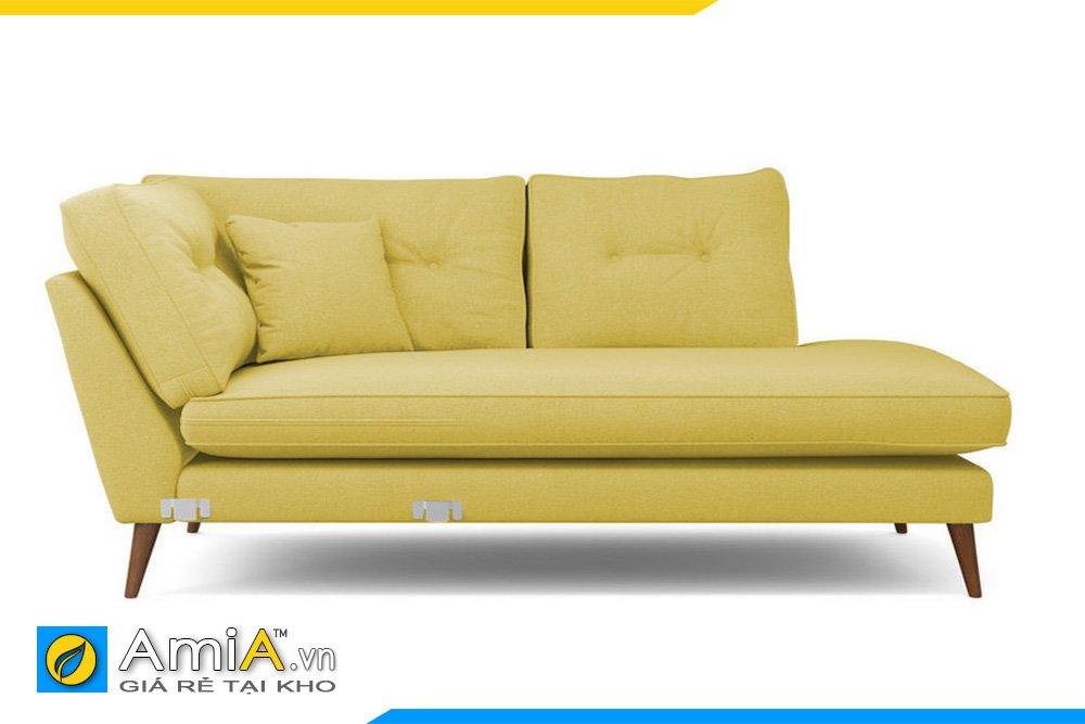 Sofa giường màu xanh cốm cho cô nàng thích sự nhẹ nhàng