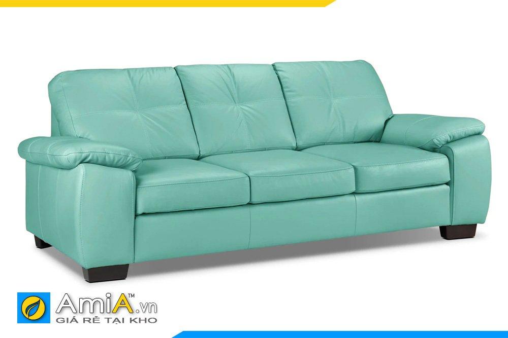 Một chiếc ghế màu xanh lơ cho căn phòng gia chủ mệnh Mộc