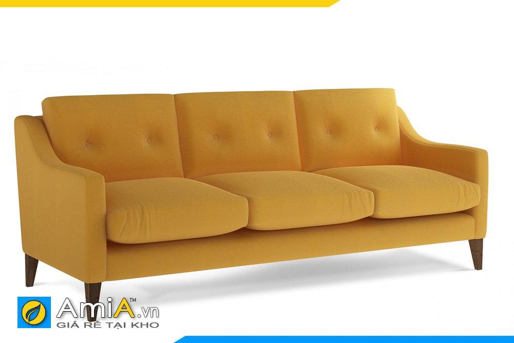 Sofa văng màu vàng