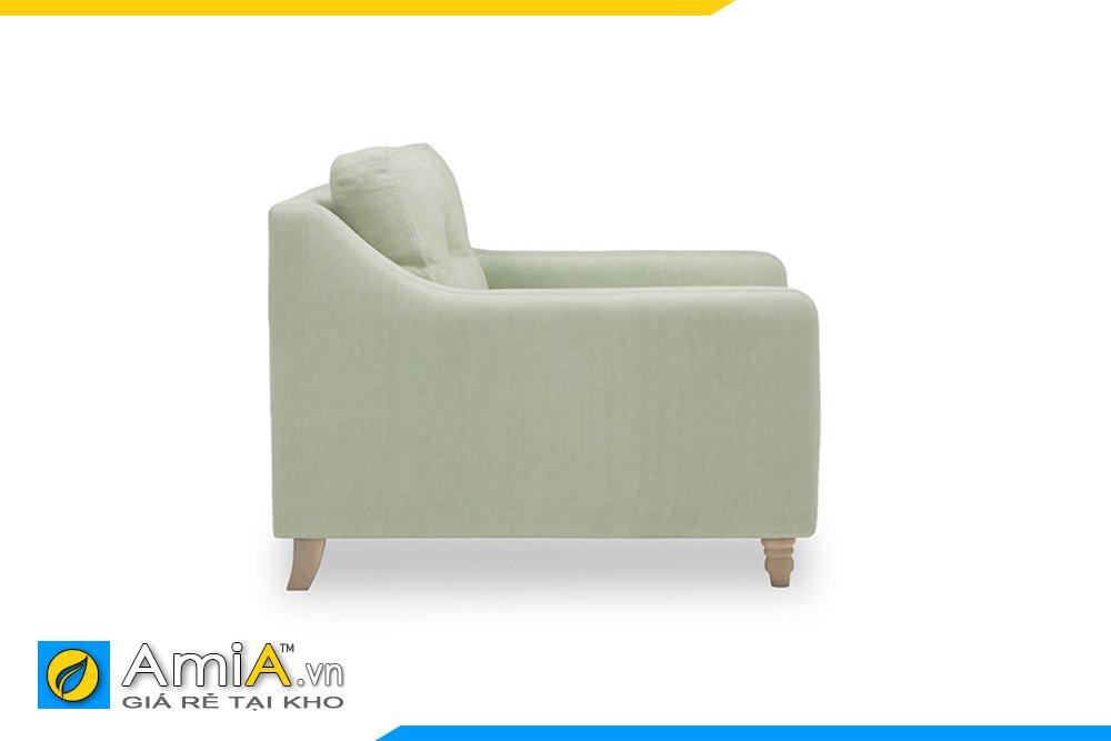 Cạnh bên của ghế phẳng giúp ghế gọn gàng và dễ kê đặt
