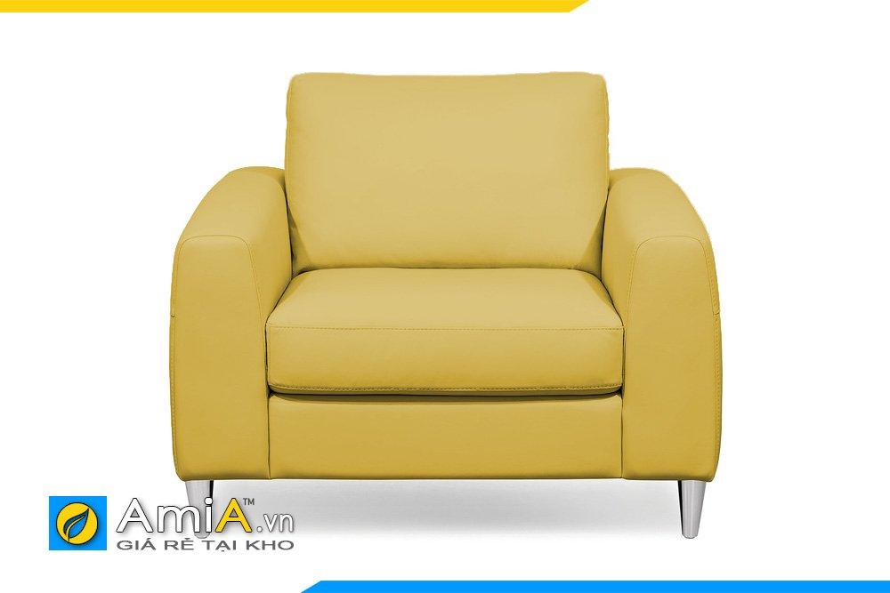 Ghế sofa đơn thường được dùng để kê phòng ngủ, phòng làm việc, thư phòng