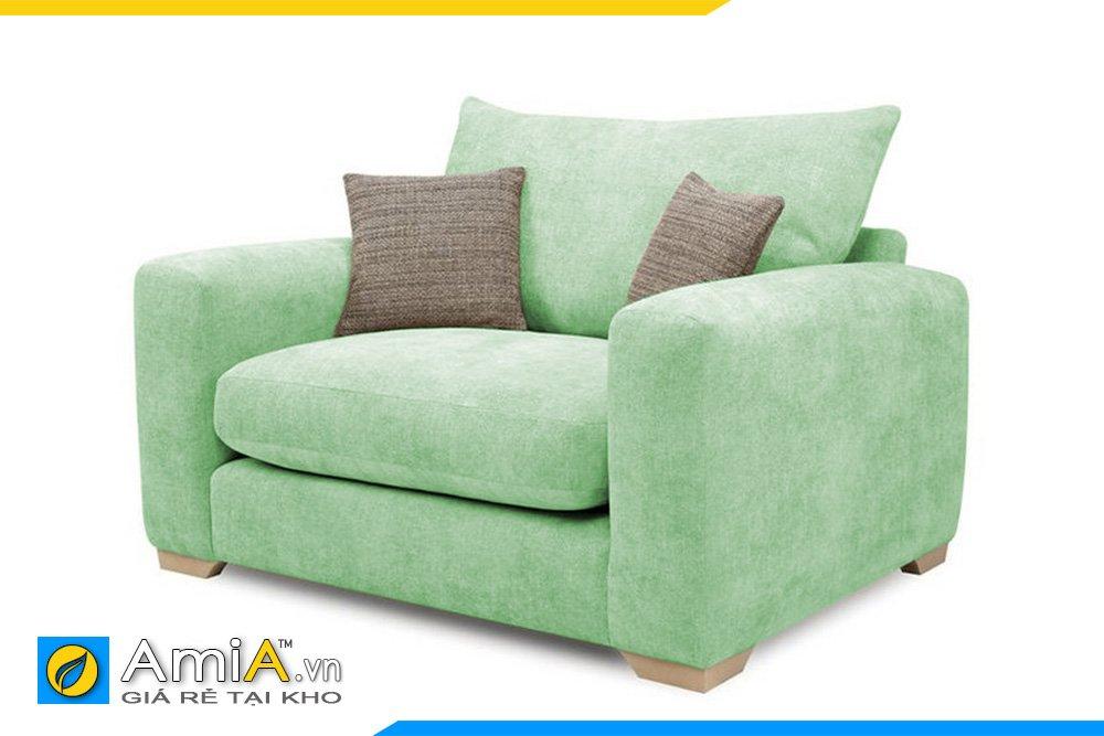 Một chiếc ghế sofa chủ màu xanh nhạt cho văn phòng hoặc homstay xanh mát của bạn