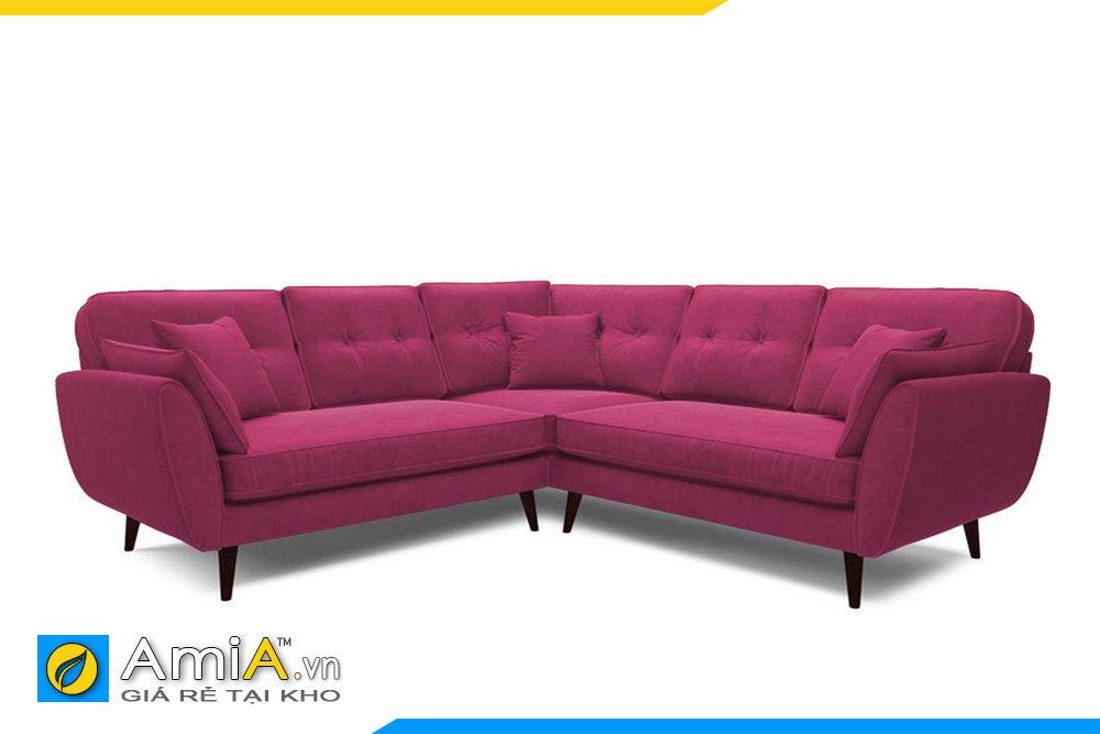 Sofa màu tím hồng lãng mạn cho các cặp vợ chồng trẻ, các bạn nữ giới