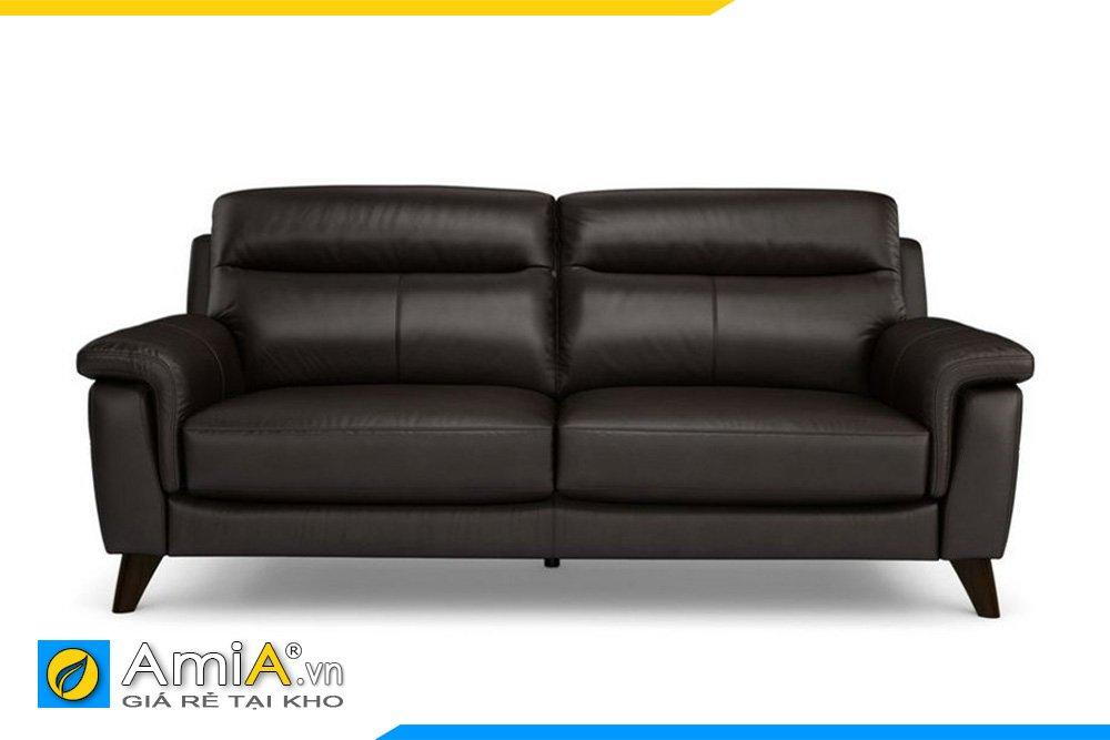 Chiếc sofa văng màu đen cho văn phòng sếp nam hoặc phòng khách tông đen trắng