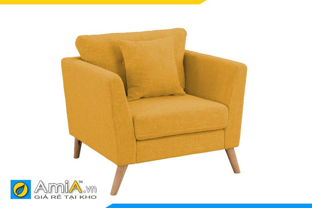 Ghế đơn màu vàng