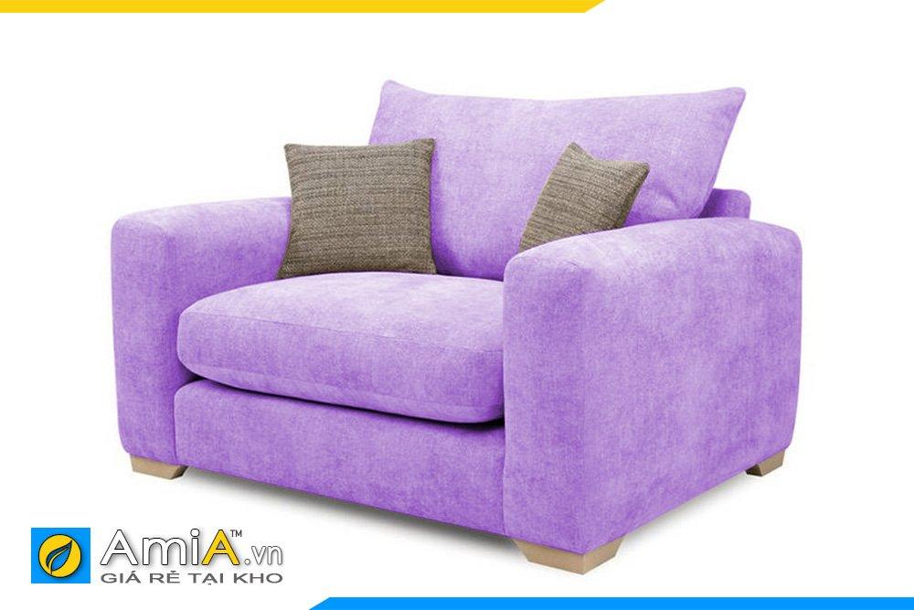 Một chiếc ghế màu tím sẽ hợp cho không gian phòng ngủ lãng mạn màu tím nhạt của bạn