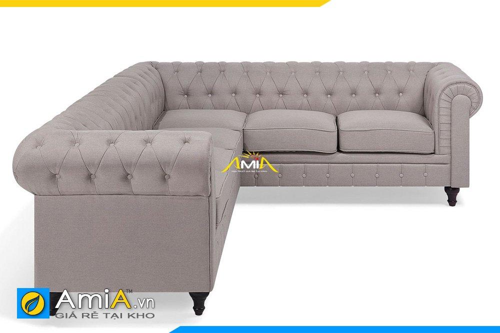 Hình ảnh mẫu sofa da tân cổ điển