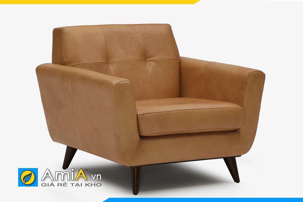 Sofa đơn d màu nâu 1 chỗ ngồi