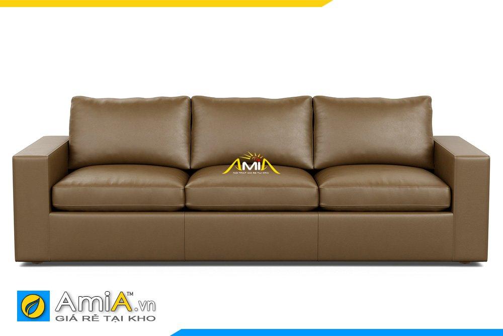 Sofa văng 3 chỗ ngồi kiểu băng dài tựa rời