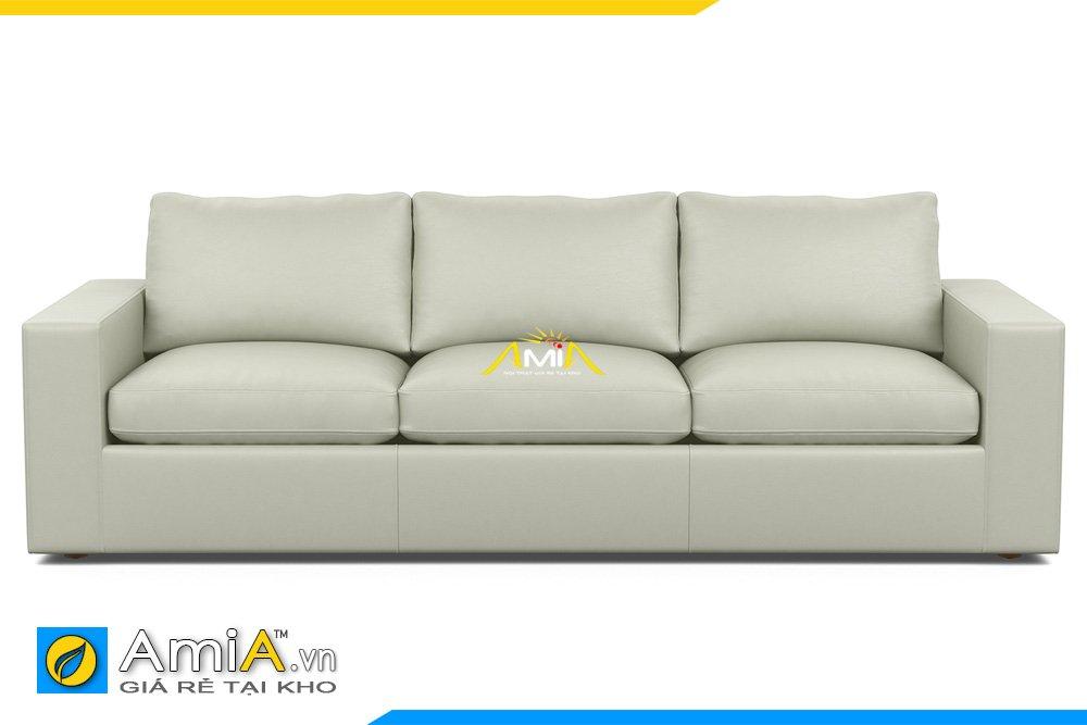 Ghế sofa văng băng dài 3 chỗ ngồi màu xám trẻ trung