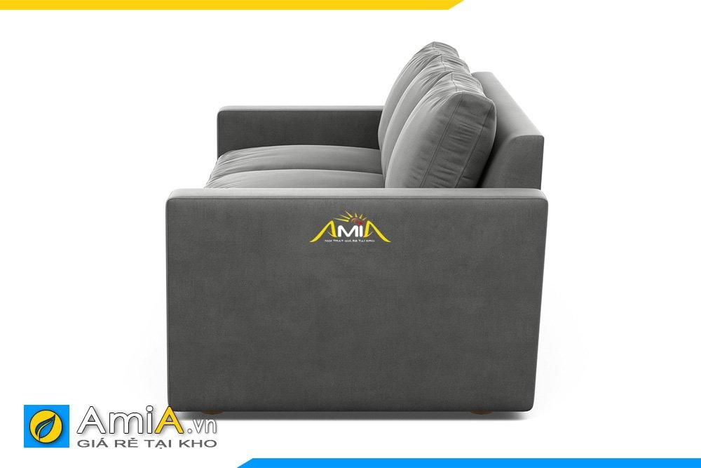 Ghế sofa băng dài với tựa tay cao, phẳng chỉn chu