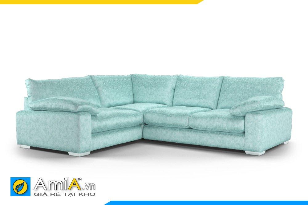 Bộ sofa chữ L bọc vải nỉ