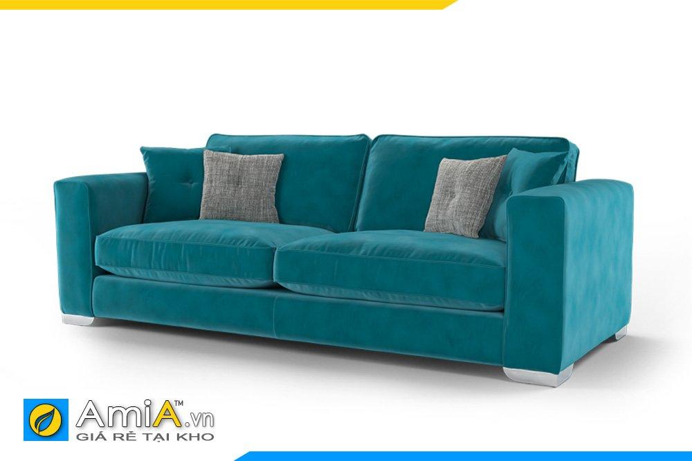 Sofa văng 2 chỗ ngồi được bọc màu xanh Navy