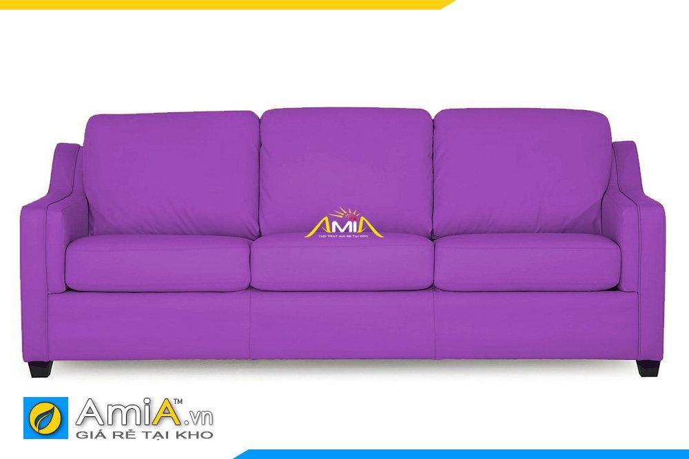 Sofa văng màu tím Huế là điểm nhấn cho không gian đậm chất lãng mạn