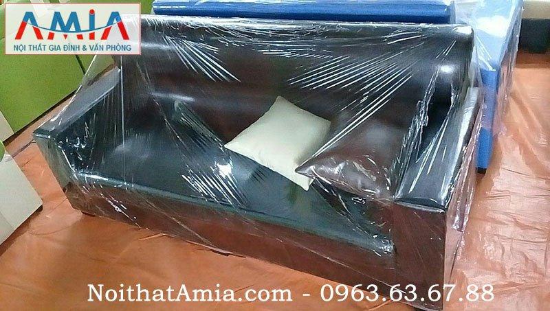 sofa da danh cho phòng khach