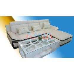 Hình ảnh cho mẫu sản phẩm bàn trà sofa gỗ mặt kính đẹp hiện đại amia-btr122