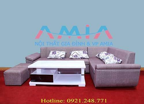 Hình ảnh mẫu sản phẩm bàn sofa gỗ đẹp AmiA BTR133