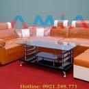 Hình ảnh cho mẫu bàn trà kính, bàn sofa kính đẹp hiện đại và sang trọng AmiA BTR134