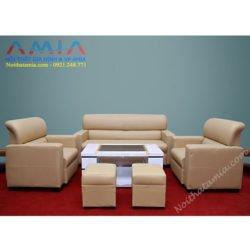 Hinh anh dai dien sofa da phong khach phong lam viec