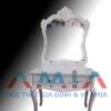 Hình ảnh mẫu bàn phấn, bàn trang điểm đẹp màu trắng AmiA BTD03