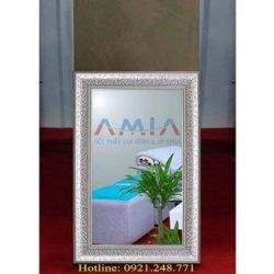 gương soi khung gỗ đẹp tại kho nội thất AmiA