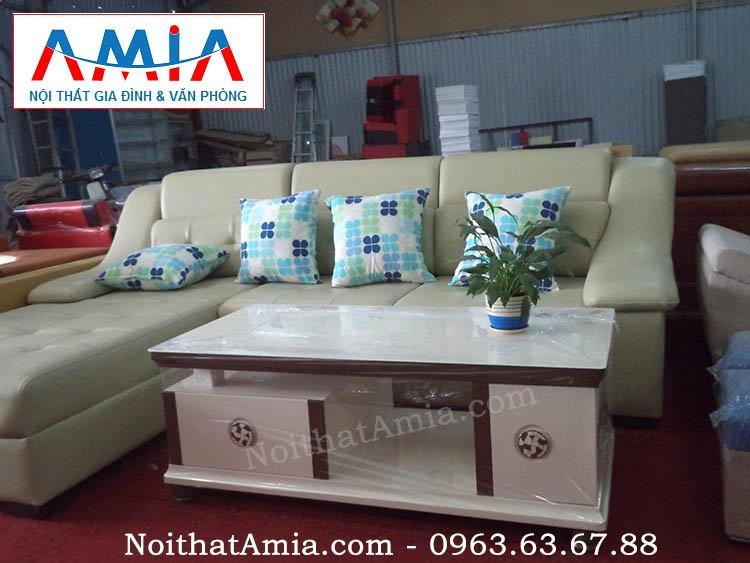 Hình ảnh cho mẫu bàn trà bàn sofa đẹp giá rẻ cho không gian phòng khách hiện đại