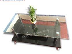 Hình ảnh cho mẫu sản phẩm bàn trà kính hiện đại giá rẻ vừa đẹp vừa xinh