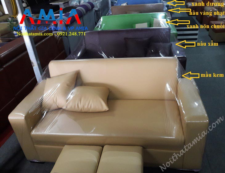 Sofa mini vang co nhieu mau sac lua chon