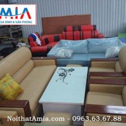 Hinh anh mau sofa phong lam viec mang phong cach tan co dien