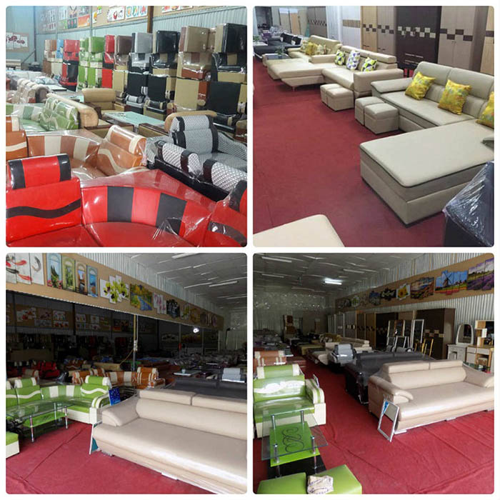 Hinh anh tong kho sofa gia re AmiA so 8 ngo 300 Nguyen Xien