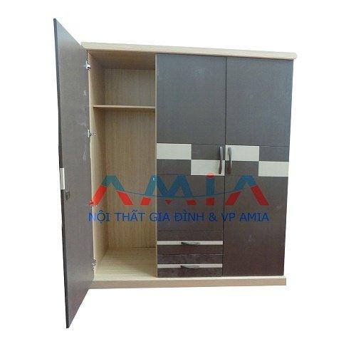 tủ quần áo gỗ ép giá rẻ tại Kho nội thất AmiA